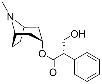 (2S)-(1R,5S)-8-METHYL-8-AZABICYCLO[3.2.1]OCTAN-3-YL 3-HYDROXY-2-PHENYLPROPANOATE