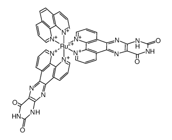 BIS(PTERIDINO[6,7-F][1,10]PHENANTHROLINE-11,13(10H,12H)-DIONE-κN4,κN5)(1,10-PHENANTHROLINE-κN1,κN10)RUTHENIUM(II)